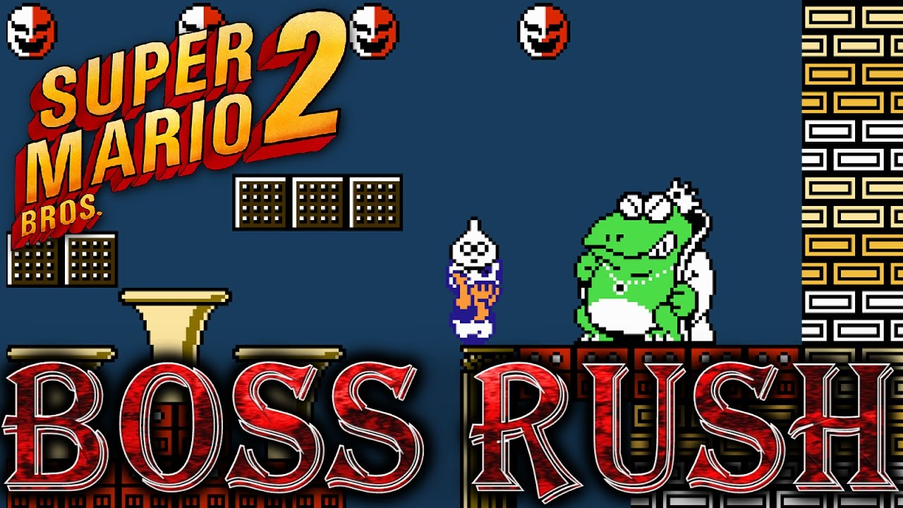 Super Mario Bros 2 All Bosses Ending No Damage Youtube