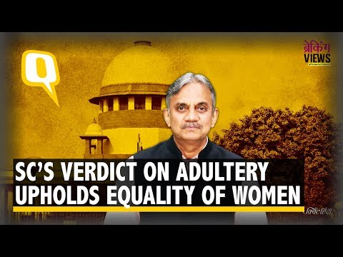 Supreme Court's Verdict on Adultery Is Worth Saluting | The Quint