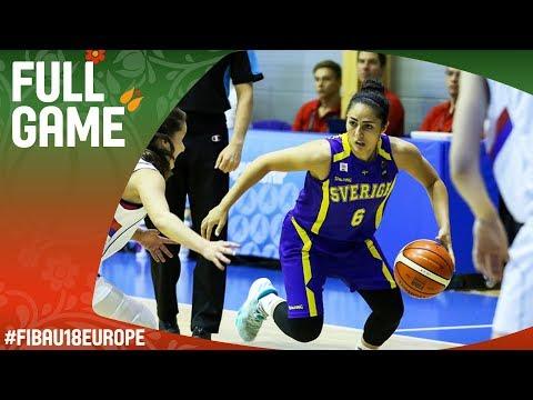 Serbia v Sweden - Live - FIBA U18 Women's European Championship 2017