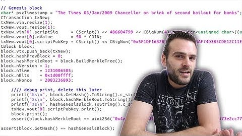 First look at the Bitcoin source code