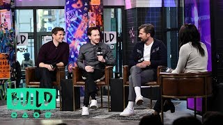 "Gwilym Lee, Joe Mazzello & Allen Leech Talk ""Bohemian Rhapsody"""