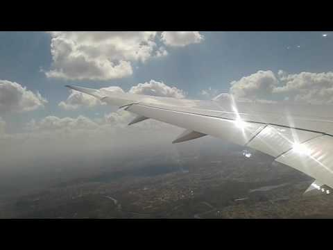 Dreamliner 787 Landing at Harare International Airport