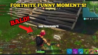 FUNNY BALD GLITCH! | Fortnite: Battle Royale Funny Moment's & Glitches. ps4 (babytree live)