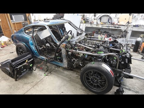 THE 240Z IS ALIVE!! You won't believe why it wouldn't start..