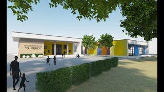 Scuola infanzia via Verdi, i lavori per il nuovo edificio illustrati dal sindaco Tiziana Magnacca