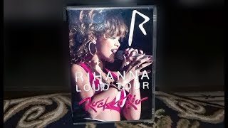 Unboxing Rihanna - DVD Rock In Rio 2011 (Loud Tour) FAN MADE