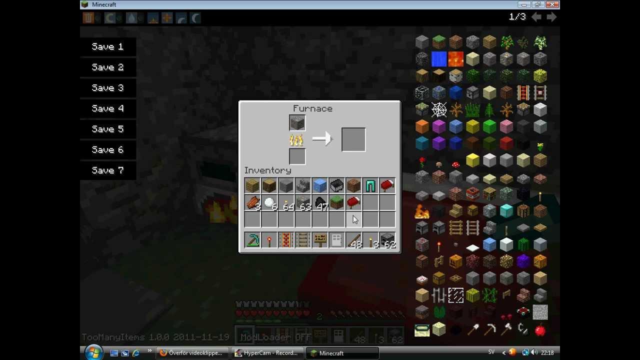 how to make iron bucket in minecraft