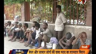 Footpath Doctor | Doctors giving free service to homeless and poor patients in Delhi