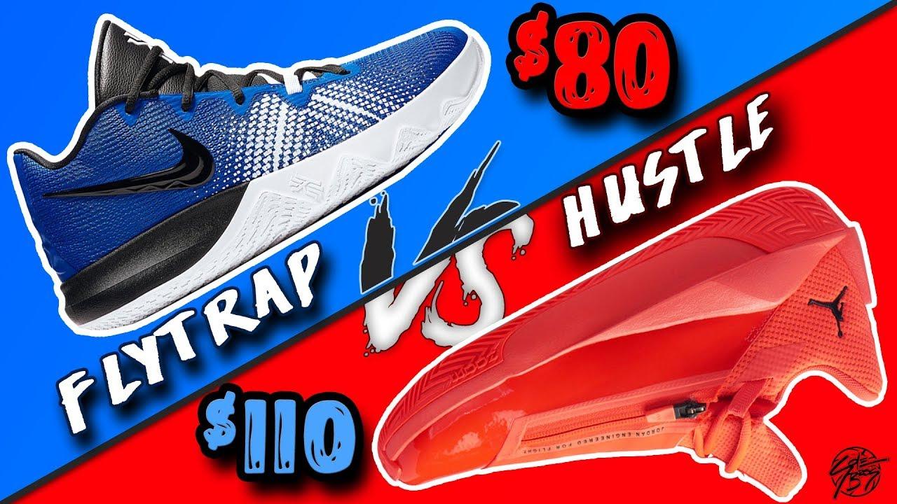 8bd204b2d2e Battle of the BUDGETS! Nike Kyrie Flytrap vs Jordan Jumpman Hustle! What's  Worth your Money?