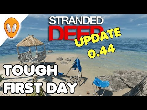 Brutal New Start | Stranded Deep Update 0.44 Ep 1: Stranded Deep Update 0.44 is out.  What kind of experience does a new player get?  Thanks for watching !  ►  Subscribe Here:  https://goo.gl/7HmhGP  ►  Support the channel:       Patreon: https://www.patreon.com/Alienange  ►  Available on Steam:  http://store.steampowered.com/app/313120/ #StrandedDeep