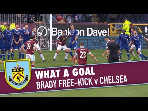 WHAT A GOAL | Brady's Brilliant Free-Kick v Chelsea