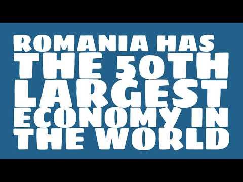 How big is the economy of Romania?