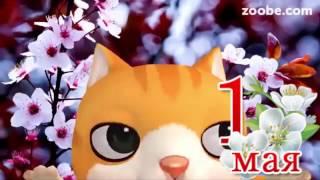 1 мая праздник. Поздравление мая в прозе. Видео открытки.