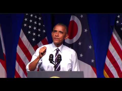 President Obama TRASHES Donald Trump & GOP In Columbus, Oh FULL Speech 10/13/16