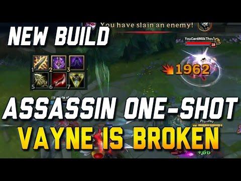 NEW S7 ASSASSIN ONE-SHOT VAYNE BUILD IS BROKEN (League of Legends)