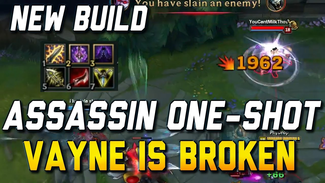 Vayne Season  Builds Top