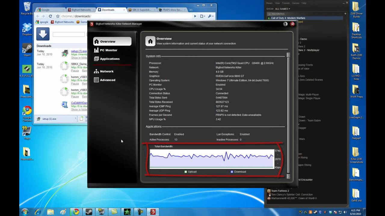 Where can I download KILLER NETWORK MANAGER, or is it only as an addition to msi products? If so, there are its analogues 84