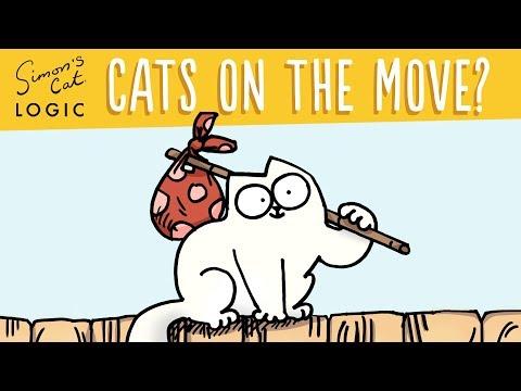 Cats on the Move - Simon's Cat Logic #18
