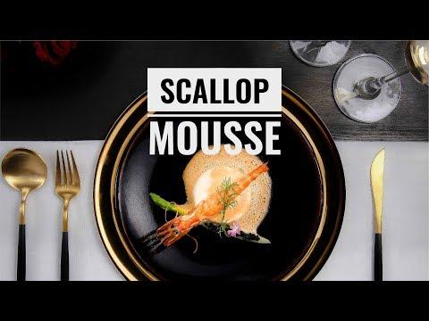 Làm Mousse Sò Điệp và xốt tôm măng tây trứng cá đen cùng Đầu Bếp Đỉnh | Hướng Nghiệp Á Âu