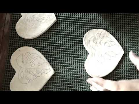 Paper Maché Coasters | Silent Beads Product
