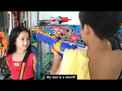 Tony | Giải Cứu Con Gái Nam Bóng - NERF WAR Rescue Daughter