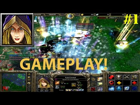 DoTa 6.83d -  Crystal Maiden, Rylai ★ Supporting! #1