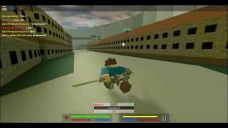 Aod   AttacK ON TITAN   in Roblox   episode 2