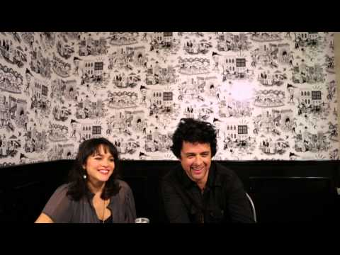 """Billie Joe Armstrong and Norah Jones - """"Foreverly"""" Interview"""