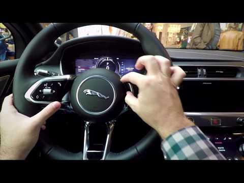 Prim contact cu Jaguar I-PACE, 100% electric!