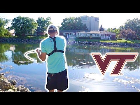 Pond Fishing At Virginia Tech?