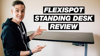Electric Standing Desk Review —  Flexispot Height Adjustable Sit Stand Desk