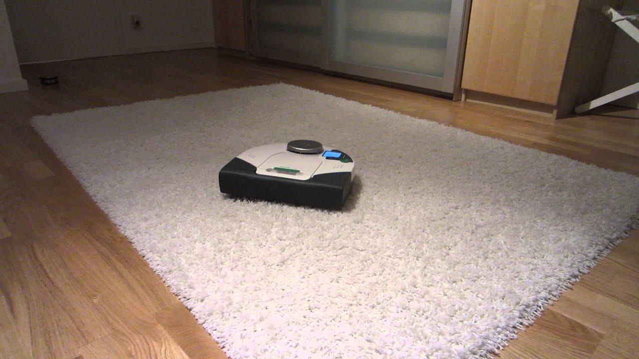 Vorwerk VR100 auf Ikea Hampen Teppich  Keine Chance  YouTube