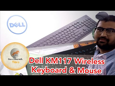 Dell KM 117 wireless keyboard and mouse: Unboxing & Review | #Davedharmik