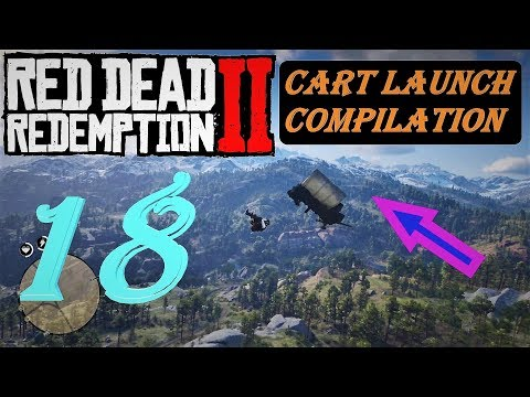 Cart Launch Compilation 18 - Red Dead Redemption 2 |
