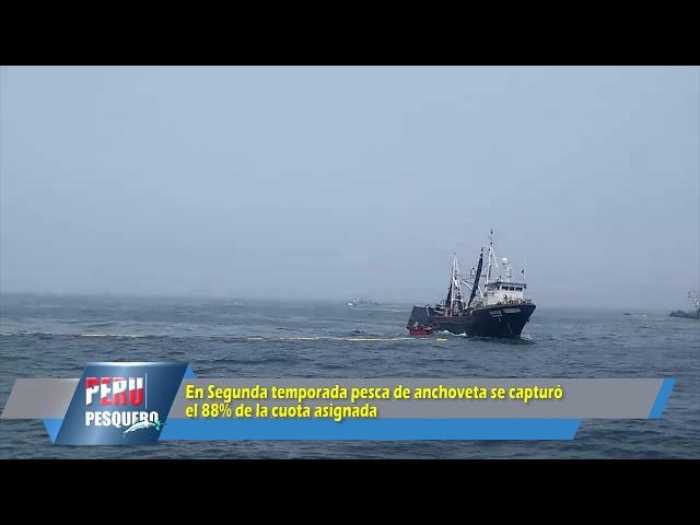 PROGRAMA PERUPESQUERO TV: Segunda temporada pesca de anchoveta 2020-II