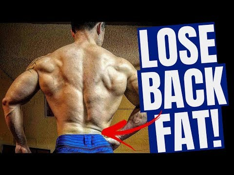 How To Lose Back Fat For Men (2 Simple Steps!)