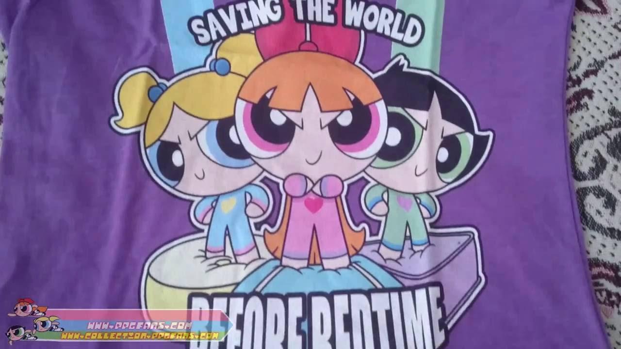 Powerpuff girls pajamas