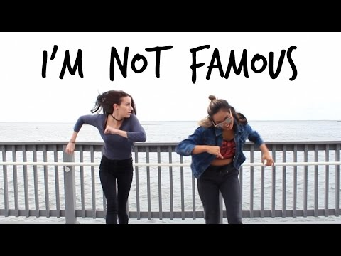"Dancing to AJR's ""I'm Not Famous"""