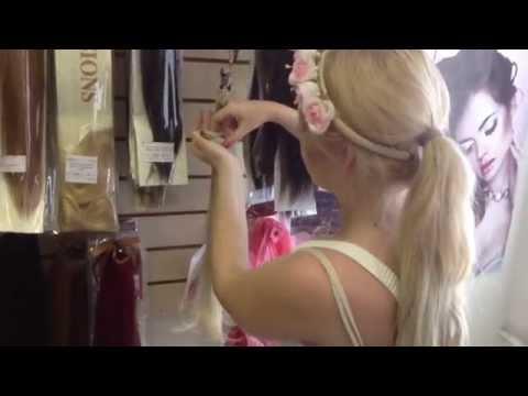 Как Завить Искусственные Волосы На Заколках