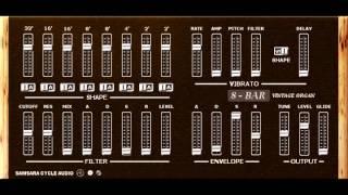8-Bar organ VST by Samsara Cycle Audio
