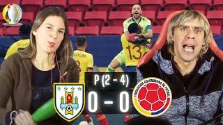 COLOMBIA 0 vs URUGUAY 0 - COPA AMERICA 2021 - Mejores momentos y Penales