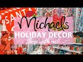 CHRISTMAS DECOR 2019 Shop with me at Michaels | The Mom Life