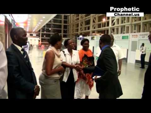 Prophet Shepherd Bushiri in Mozambique