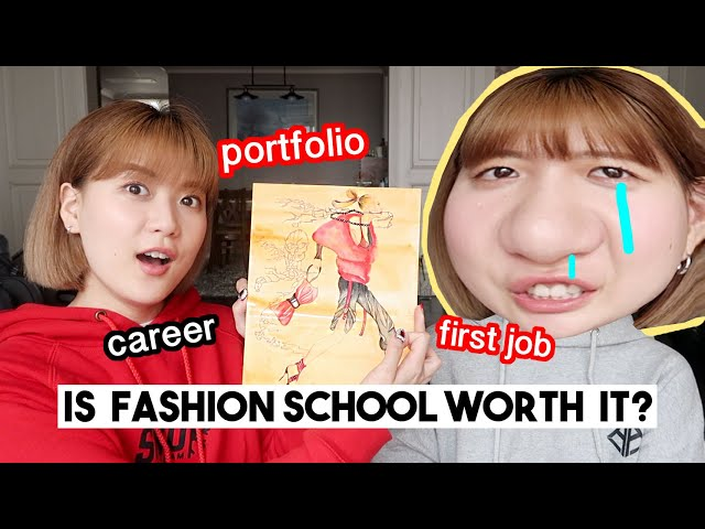 My Experience At a Fashion School (Our portfolio, first job, career advice etc) | Q2HAN