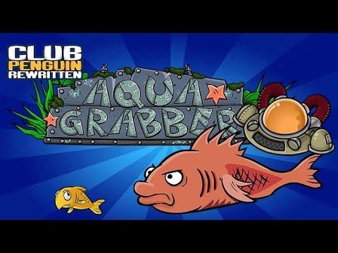 Club Penguin Rewritten: Aqua Grabber - Soda Seas (How To Pass Mullet With No Fish)