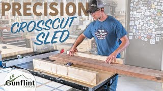 Making A Table Saw Crosscut Sled - Simple & Precise