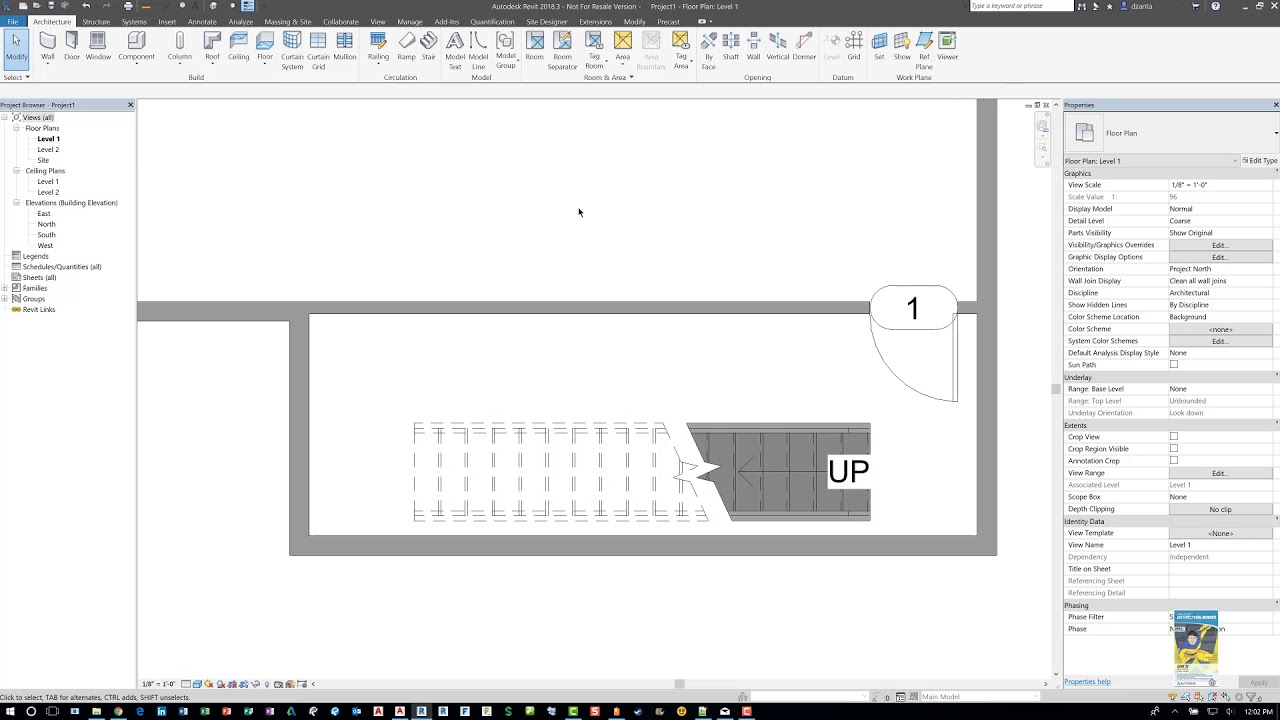how to add stairs in revit