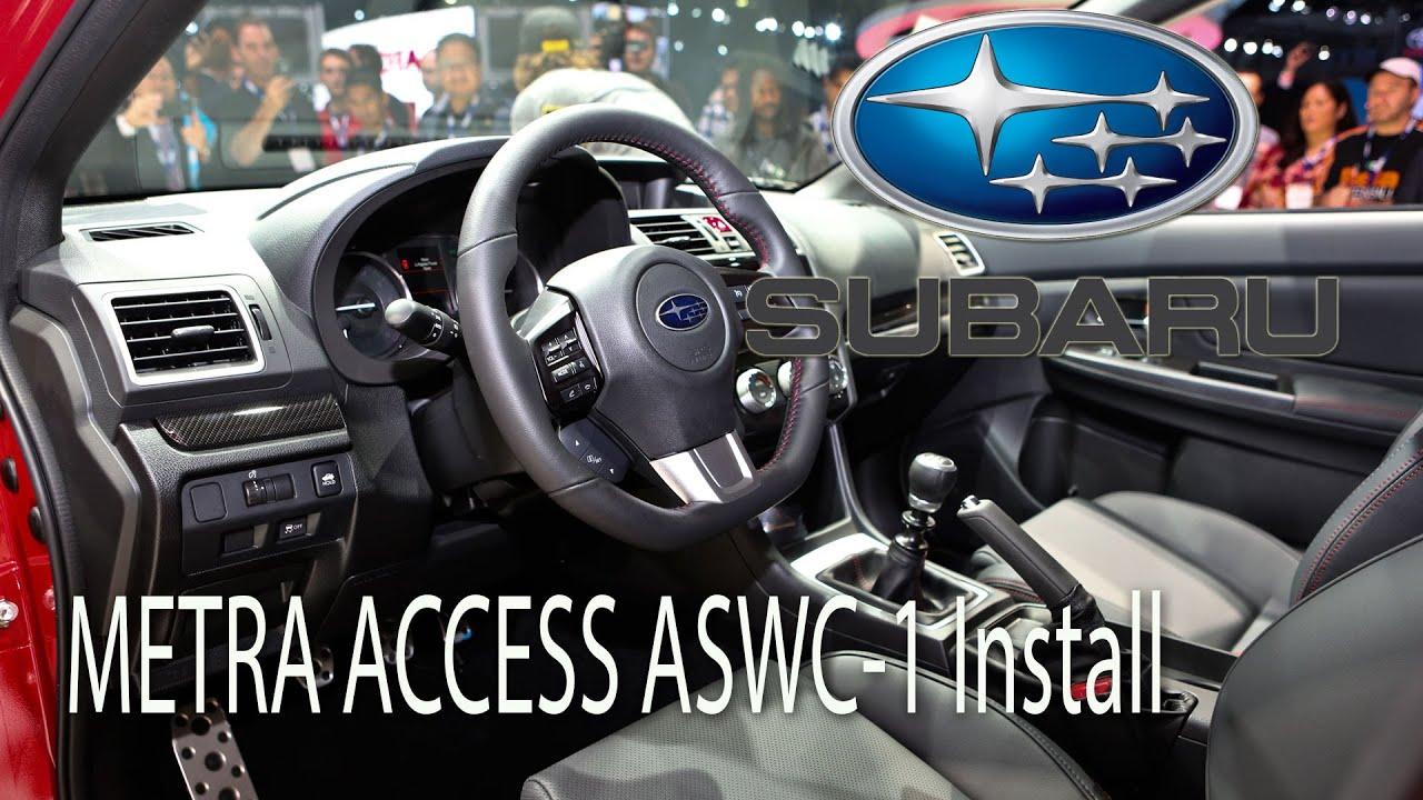 2015 Subaru Wrx Metra Axxess Aswc