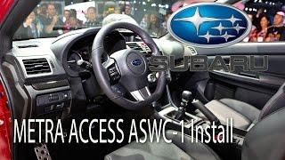 2015 subaru wrx metra axxess aswc 1 steering wheel control