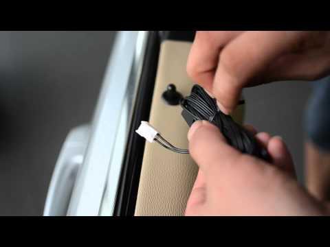 bmw E90  comfort access install .mp4